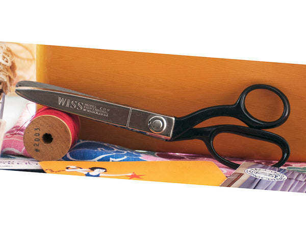 Wil-Hold Sewing Box Filled with Vintage Sewing Notions Fabrics Scissors thread Trim