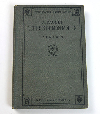 Vintage French language book, Heath Modern Language Series