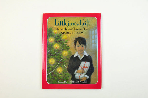 Vintage Children's Christmas Book Littlejim's Gift: An Appalachian Christmas Story by Gloria Houston Stated First Impression Illustrated - PlumsandHoneyVintage