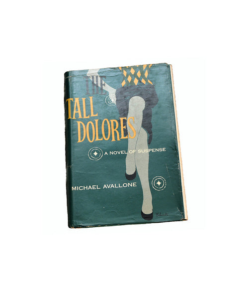 The Tall Dolores, Michael Avallone First Edition 1953 Vintage Novel Noir Fiction Mid Century Novel Collectible Mystery Novel Detective Book - PlumsandHoneyVintage
