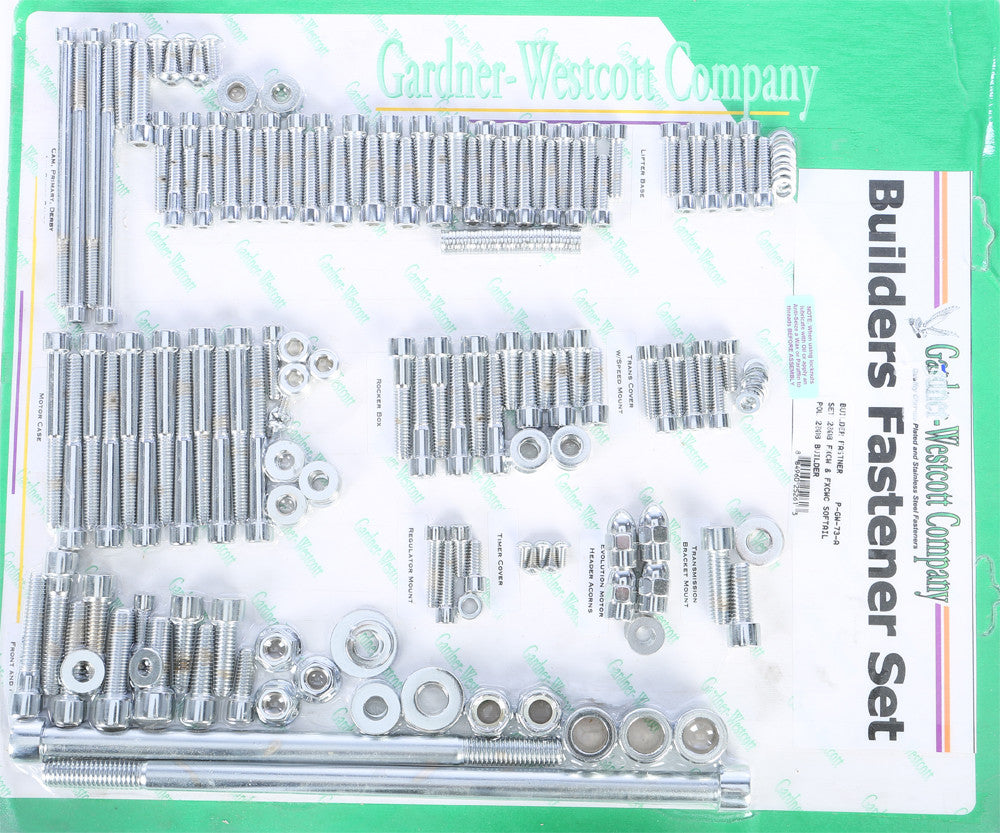 BIG TWIN BUILDER SET 08-12 FXCW AND FXCWC MODELS