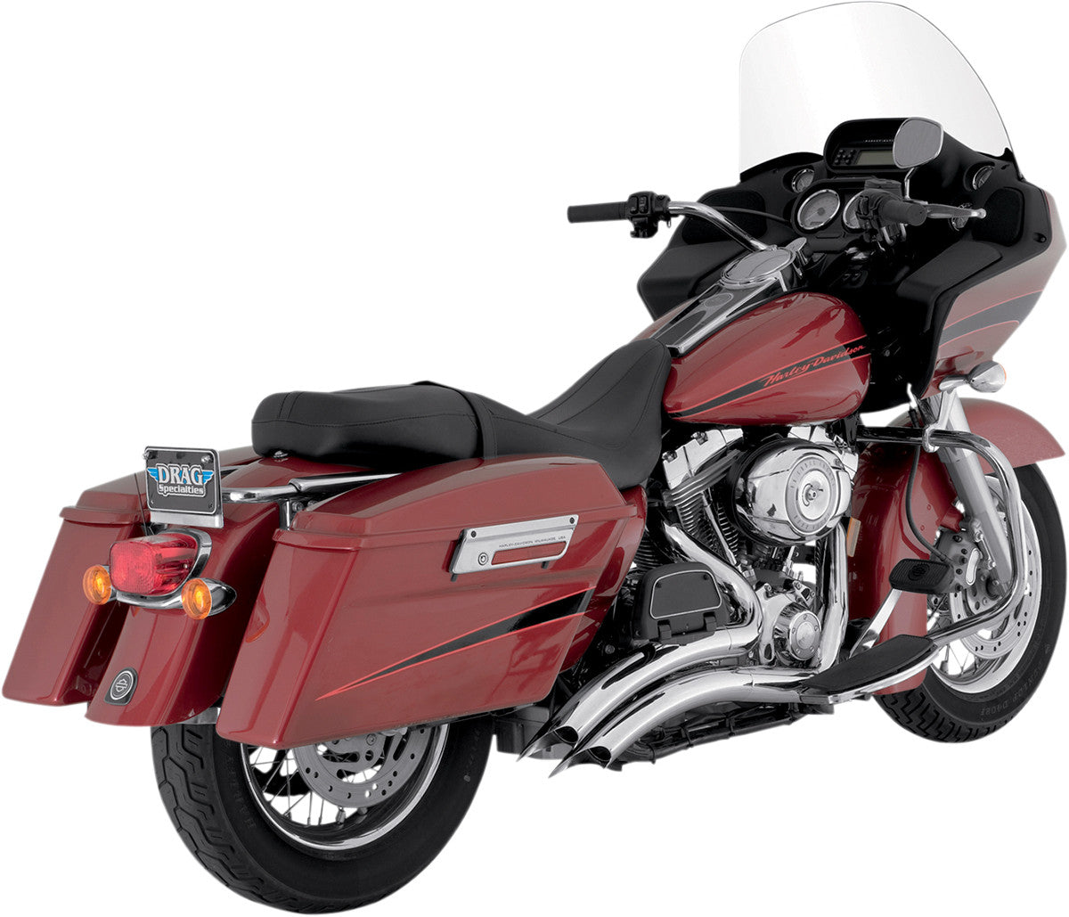 VANCE & HINES BIG RADIUS, CHROME(for 99-06 FLHT, FLHR, FLHX, FLTR)