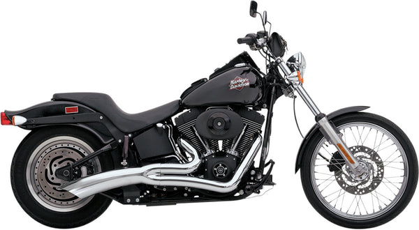 "VANCE & HINES BIG RADIUS 2-INTO-1 CATALYTIC (for 08-10 FXST/FLST 96"" AND 103"" EXCEPT 09 FXSTSE, 09-10 FXCW/C models)"