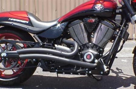 Jokers Exhaust for Victory Vegas, 8-Ball, Kingpin, Highball (Fits 2008-Up)