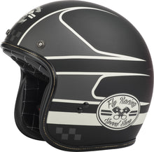 Load image into Gallery viewer, .38 WRENCH HELMET BLACK/VINTAGE WHITE SM