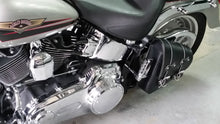 Load image into Gallery viewer, Bobber Bag & Bracket Package for Harley Softail (save $20!)