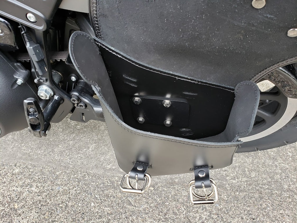 Bobber Bracket - Swingarm Bag Hard Mount Kit for Harley Softail 2018-up