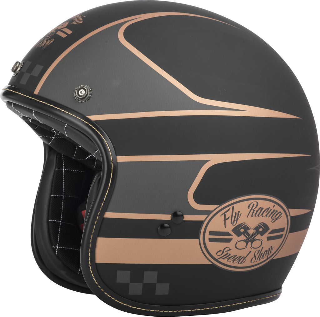 .38 WRENCH HELMET BLACK/COPPER XS