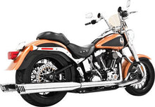 Load image into Gallery viewer, RACING TRUE DUAL 4 CHROME W/CHROME TIP SOFTAIL