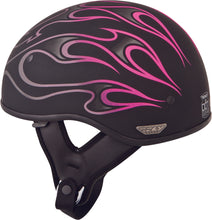 Load image into Gallery viewer, .357 FLAME HALF HELMET PINK SM