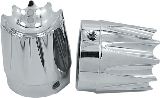AXLE NUT COVER EXCALIBUR CHROME 1
