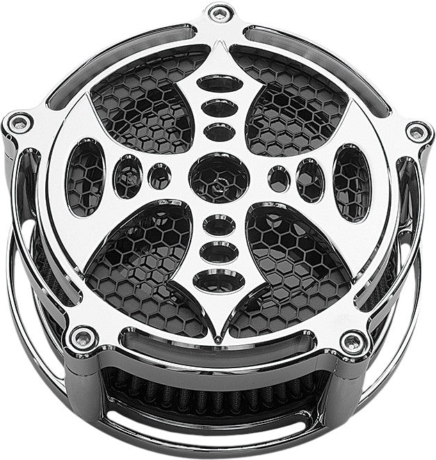 BILLET AIR CLEANER BAD AXE CHROME