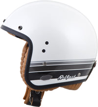 Load image into Gallery viewer, BELFAST OPEN-FACE BLANCO HELMET WHITE S