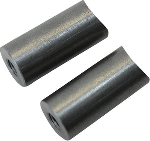 "Coped Steel Bungs 5/16-18 Threaded 1-1/2"" 2/Pk"