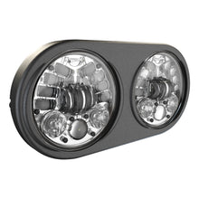 Load image into Gallery viewer, 8692 LED HEADLIGHT DUAL 5.75 CHR BEZEL