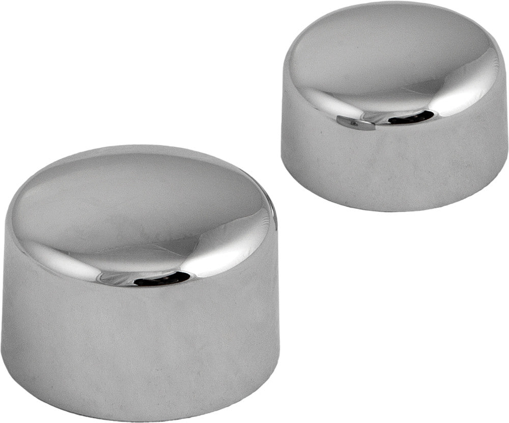Chrome Die-Cast Set Axle Covers