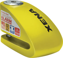 Load image into Gallery viewer, XX6 ALARM DISC LOCK 3.3 X 2.3 (YELLOW)
