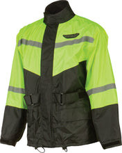 Load image into Gallery viewer, 2-PIECE RAIN SUIT BLACK/HI-VIS YELLOW