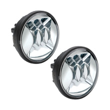 Load image into Gallery viewer, 6045 LED FOG LAMP KIT 4.5 CHR BEZEL DUAL