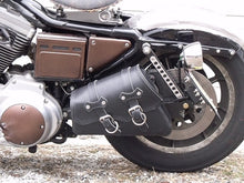 Load image into Gallery viewer, Bobber Bag & Bracket Package for Harley Sportster (save $20!)