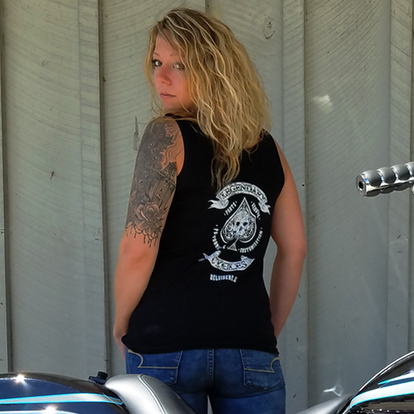 Legendary Cycles Logo Womens Tank Top