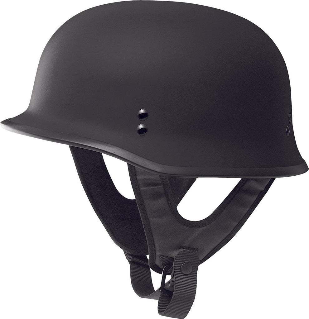 9MM GERMAN BEANIE HELMET MATTE BLACK 2X