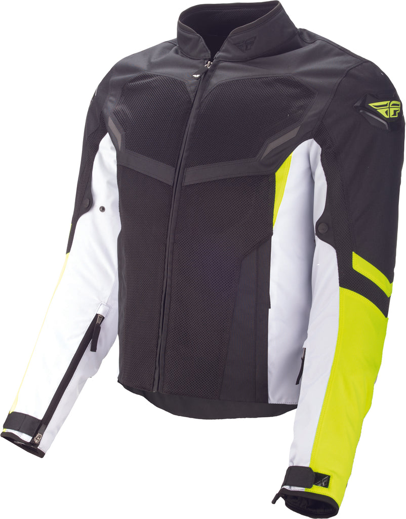 FLY AIRRAID MESH JACKET HI-VIS/BLACK LG