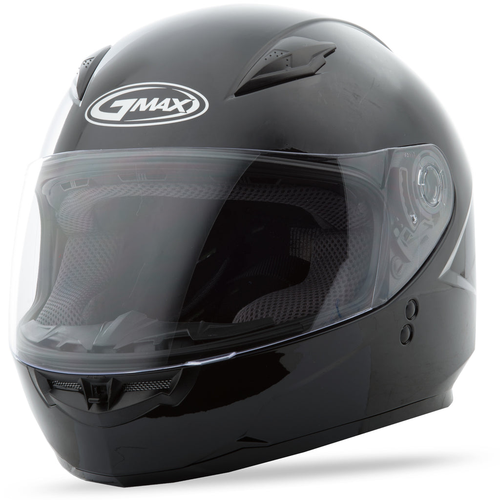 YOUTH GM-49Y FULL-FACE HELMET BLACK YL