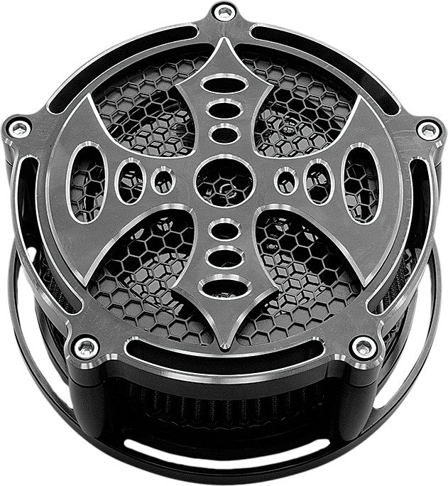 BILLET AIR CLEANER BAD AXE BLACK