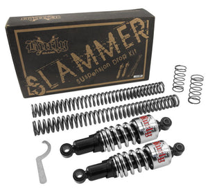Slammer Suspension Drop Kit With Shocks for Dyna Glide (exc. FXDWG 1991 - 2005)