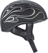 Load image into Gallery viewer, .357 FLAME HALF HELMET GREY MD