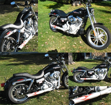 Track Tuned Exhaust for 2006-Up Dyna Glide