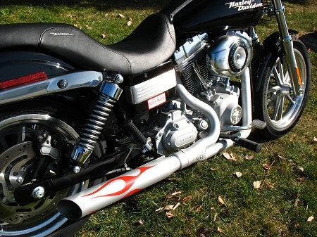 Track Tuned Exhaust for 2006-Up Dyna Glide - Must Specify Year
