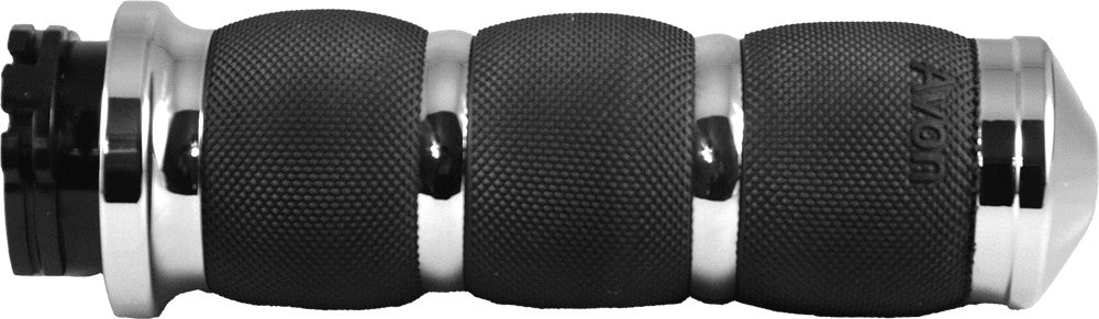 AIR CUSHIONED GRIPS W/F-B-W THROTTLE CHROME