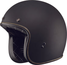 Load image into Gallery viewer, .38 RETRO HELMET MATTE BLACK MD