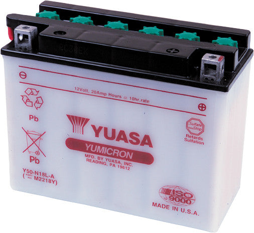 BATTERY Y50-N18L-A CONVENTIONAL