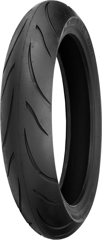 TIRE 011 VERGE FRONT 120/70ZR17 58(W) RADIAL
