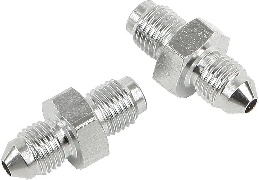 JIC TO -3 TUBE ADAPTER 3/8-24 MALE CHROME 3/8
