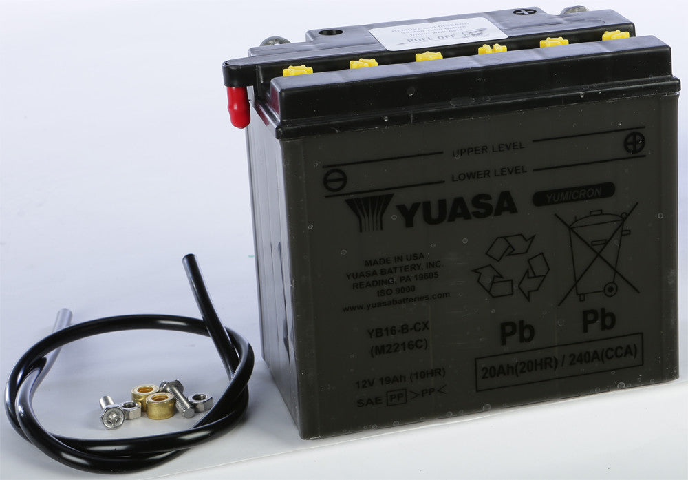 BATTERY YB16-B-CX CONVENTIONAL