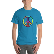 "Load image into Gallery viewer, ""Peace"" Mens Short Sleeve T-Shirt"