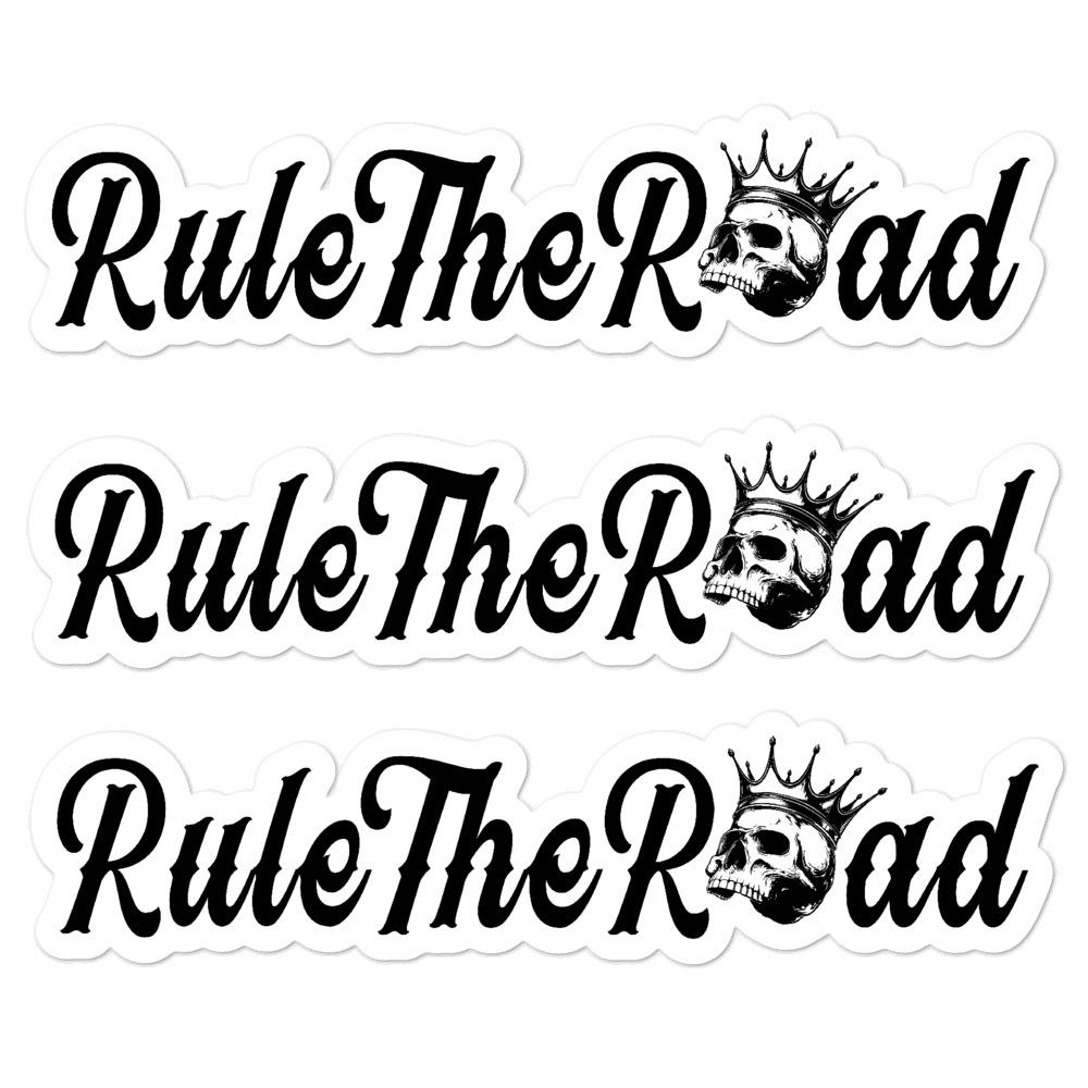 Rule The Road OG Logo Sticker