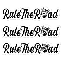Load image into Gallery viewer, Rule The Road OG Logo Sticker