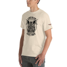 "Load image into Gallery viewer, ""Live Fast, Live Free"" Mens Short Sleeve T-Shirt"