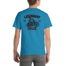 "Load image into Gallery viewer, ""Legendary Cycles Skully Bobber "" Mens Short Sleeve T-Shirt"