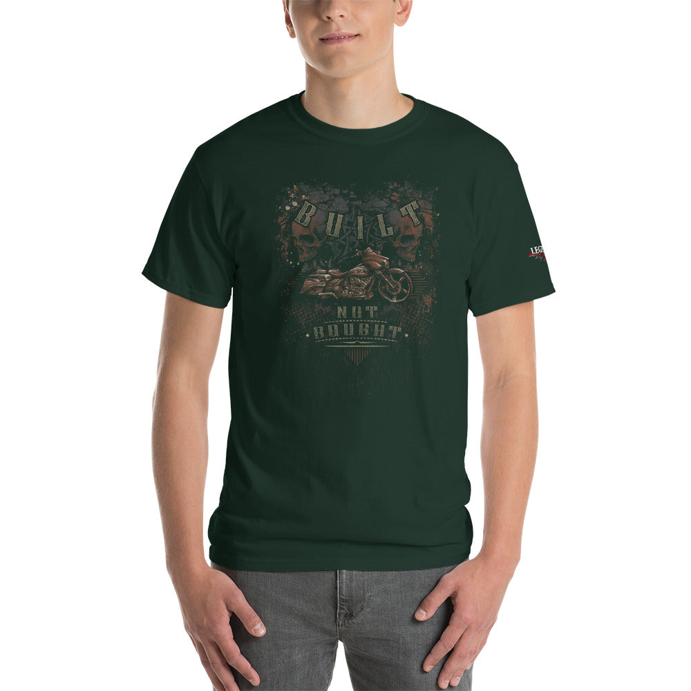 """Built Not Bought Bagger"" Mens Short Sleeve T-Shirt"