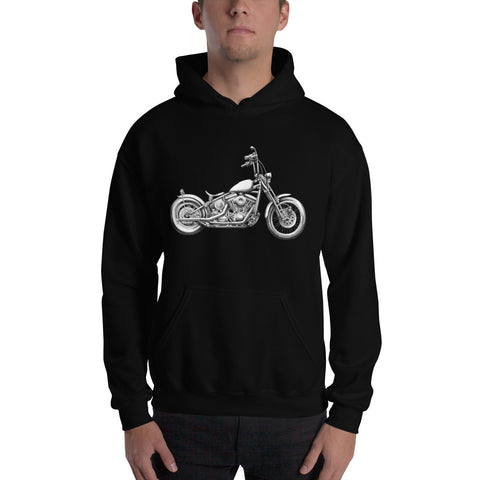 """Evo Bobber"" Mens Hooded Sweatshirt"