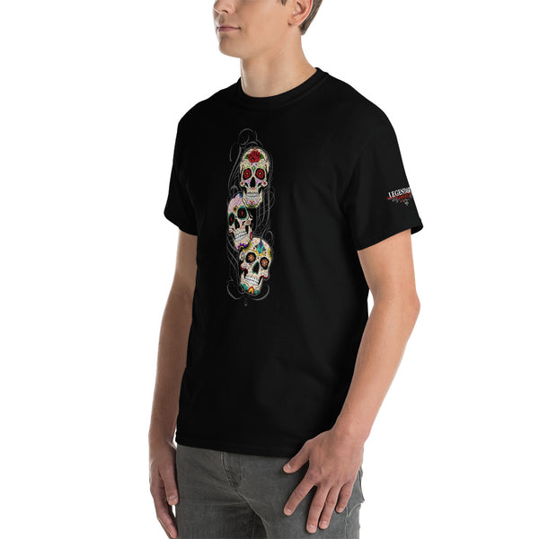 """Sugar Skulls"" Mens Short Sleeve T-Shirt"