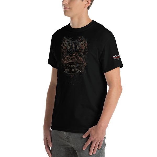 """Built Not Bought Bobber"" Mens Short Sleeve T-Shirt"