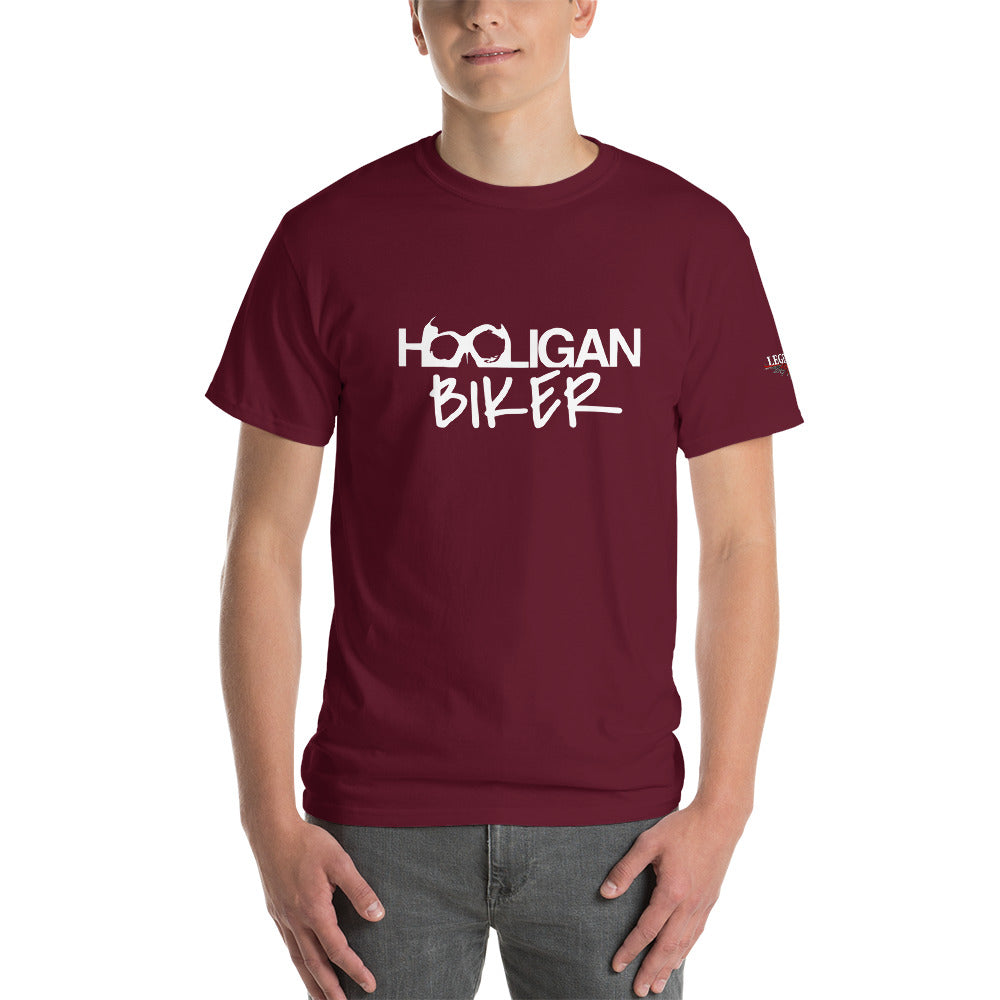 """Hooligan Biker"" Mens Short Sleeve T-Shirt"