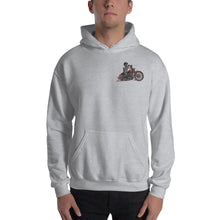 "Load image into Gallery viewer, ""Legendary Cycles Skully Bobber "" Hooded Sweatshirt (Unisex Hoodie)"
